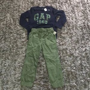 New with tag GAP Boy set, size s